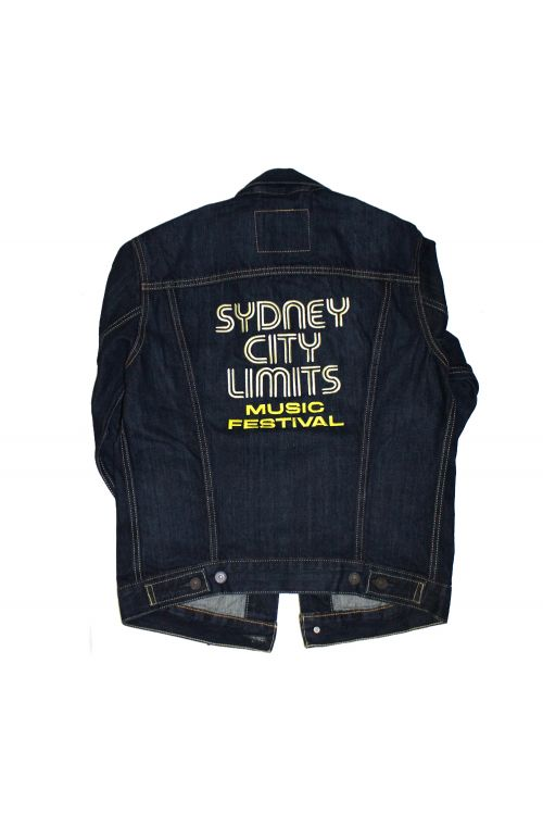 Thongs Denim Jacket 2018 Event by Sydney City Limits
